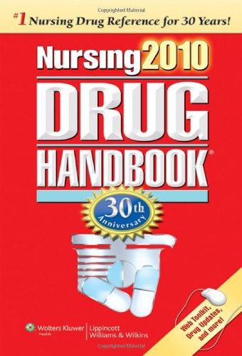 Nursing2010 Drug Handbook  30th 2009 (Revised) edition cover