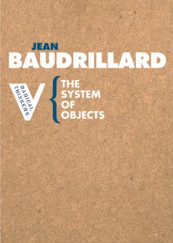 System of Objects   2005 edition cover