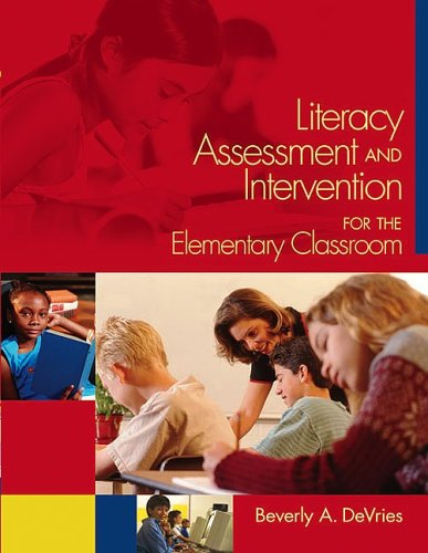 Literacy Assessment and Intervention for the Classroom Teacher  2004 edition cover