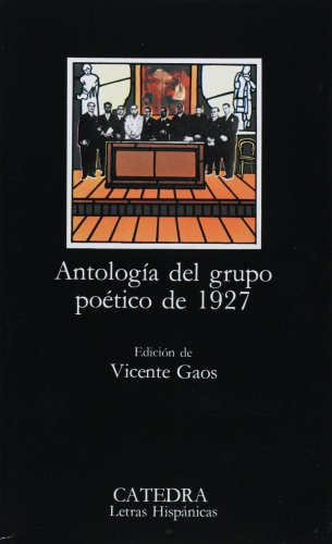 Poetic Anthology of the Generations of 1927  20th 1997 edition cover