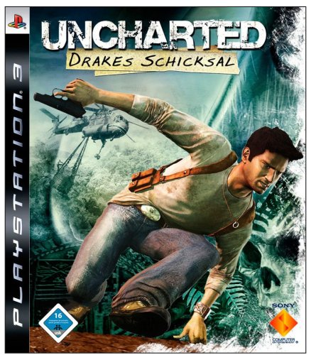 Uncharted: Drakes Schicksal PlayStation 3 artwork