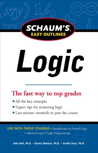 Schaum's Easy Outline of Logic, Revised Edition   2012 edition cover
