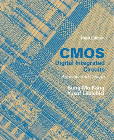 CMOS Digital Integrated Circuits Analysis and Design  3rd 2003 (Revised) edition cover