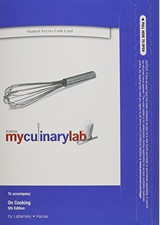 MYCULINARYLAB-ACCESS CODE N/A 9780135101537 Front Cover