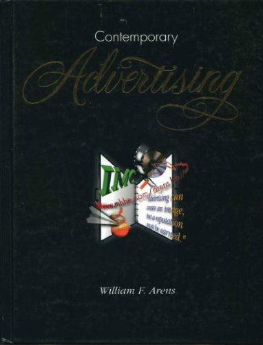 Contemporary Advertising 7th 1999 9780256262537 Front Cover