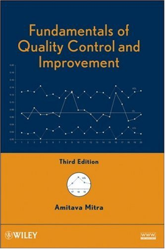Fundamentals of Quality Control and Improvement  3rd 2008 9780470226537 Front Cover