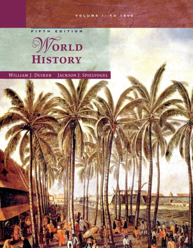 World History to 1800  5th 2007 edition cover