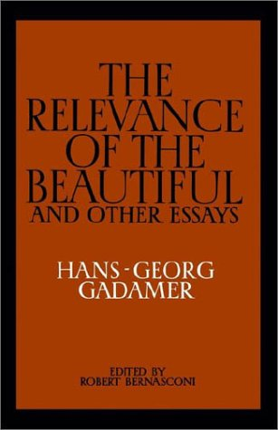 Relevance of the Beautiful and Other Essays  N/A edition cover