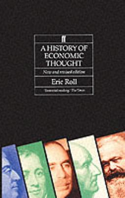 History of Economic Thought  5th 1992 edition cover
