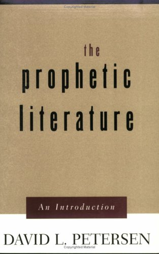 Prophetic Literature An Introduction  2002 edition cover