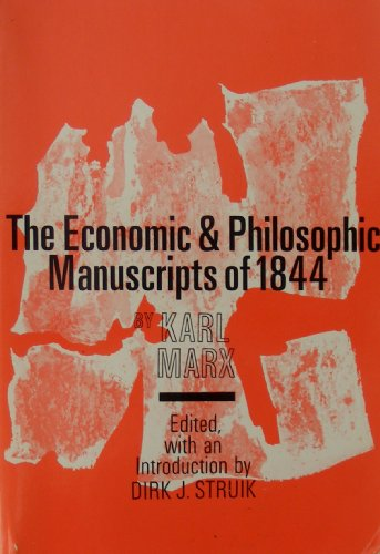 Economic and Philosophic Manuscripts of 1844  N/A edition cover