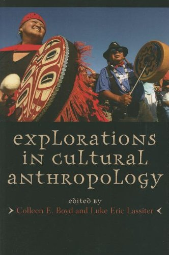 Explorations in Cultural Anthropology A Reader  2011 edition cover