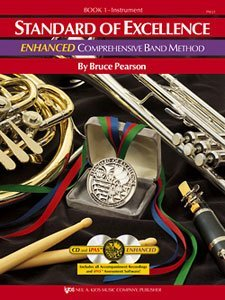 Standard of Excellence (SOE) Enhanced, Book 1 - Clarinet  N/A 9780849707537 Front Cover