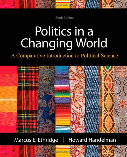 Politics in a Changing World  6th 2013 9781111832537 Front Cover