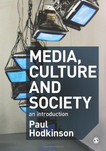 Media, Culture and Society An Introduction  2011 edition cover