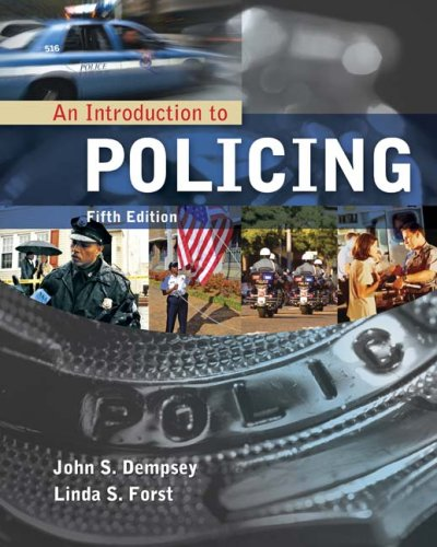Introduction to Policing  5th 2010 edition cover