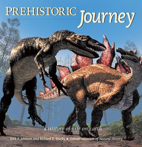 Prehistoric Journey A History of Life on Earth  2006 edition cover