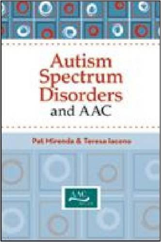 Autism Spectrum Disorders and AAC   2009 edition cover