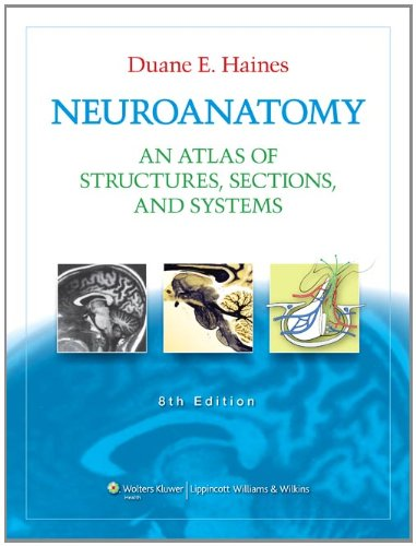 Neuroanatomy An Atlas of Structures, Sections, and Systems 8th 2012 (Revised) edition cover