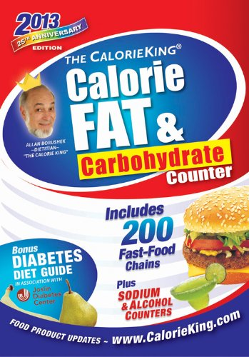 The Calorieking Calorie, Fat, & Carbohydrate Counter 2013:   2012 edition cover