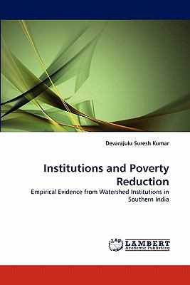 Institutions and Poverty Reduction N/A 9783843355537 Front Cover