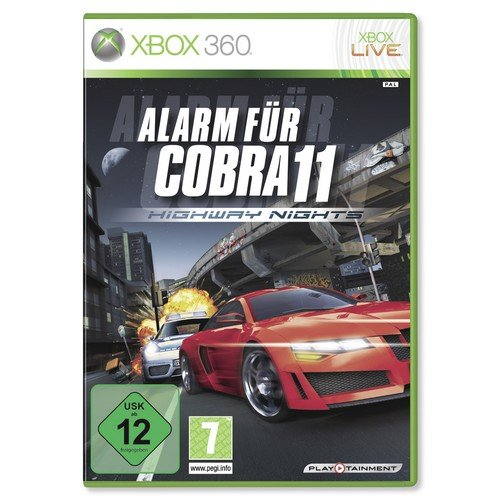 Alarm für Cobra 11: Highway Nights Xbox 360 artwork