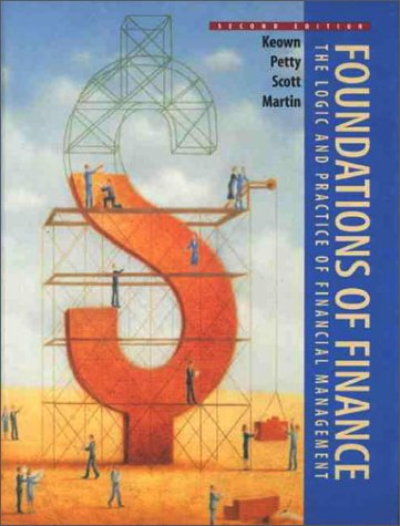 Foundations of Finance  2nd 1998 9780137481538 Front Cover