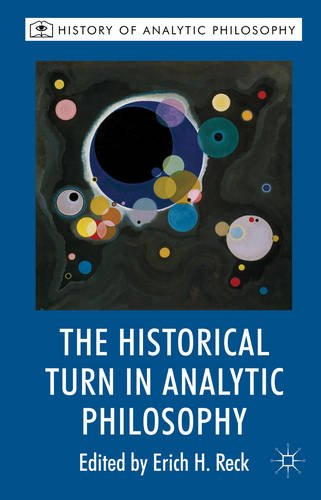 Historical Turn in Analytic Philosophy   2013 9780230201538 Front Cover