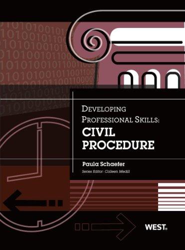 Civil Procedure: Civil Procedure  2013 edition cover