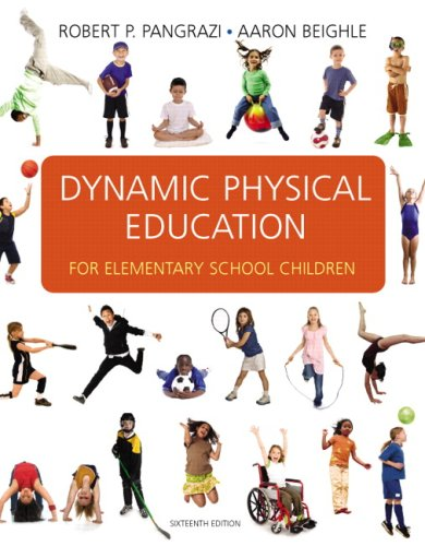Dynamic Physical Education for Elementary School Children  16th 2010 edition cover