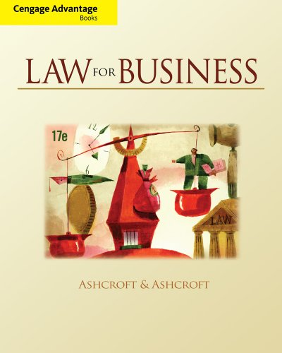 Law for Business  17th 2011 edition cover