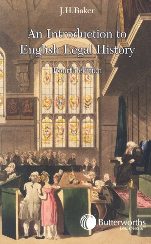 Introduction to English Legal History  4th 2002 (Revised) edition cover