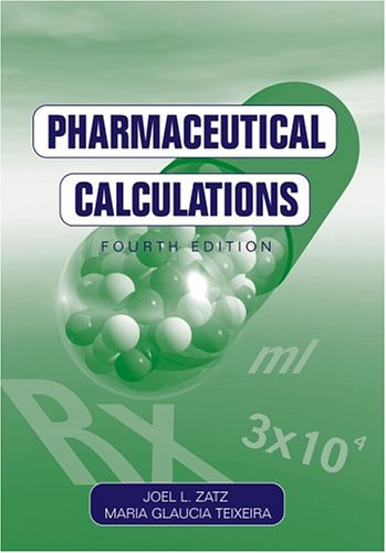 Pharmaceutical Calculations  4th 2004 (Revised) edition cover