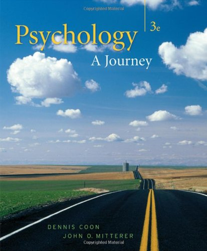 Psychology A Journey 3rd 2008 edition cover