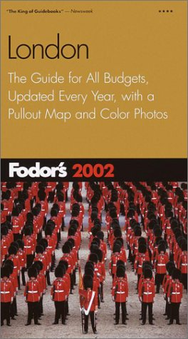 London 2002 The Guide for All Budgets, Updated Every Year, with a Pullout Map and Color Photos  2002 (Revised) 9780679008538 Front Cover