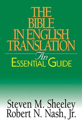 Bible in English Translation An Essential Guide N/A edition cover