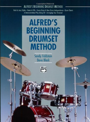 Alfred's Beginning Drumset Method   1990 edition cover