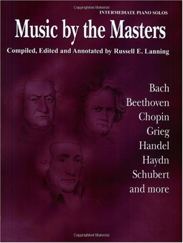 Music by the Masters Bach, Beethoven, Chopin, Grieg, Handel, Haydn, Schubert and More  1985 edition cover