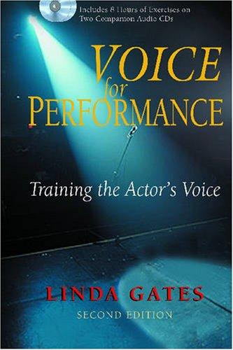 Voice for Performance Training the Actor's Voice 2nd 2008 edition cover
