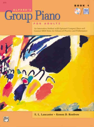 Alfred's Basic Adult Group Piano Course, Book 1 1st edition cover