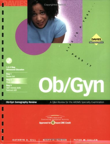 OB/GYN Sonography Review   2002 edition cover