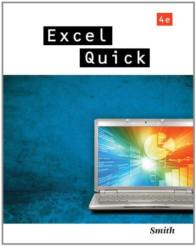 Excel Quick  4th 2012 9781111822538 Front Cover