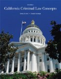 California Criminal Law Concepts 2014 Edition  14th 2014 edition cover