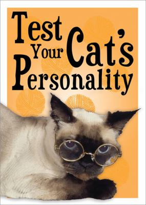 Test Your Cat's Personality  N/A 9781402218538 Front Cover