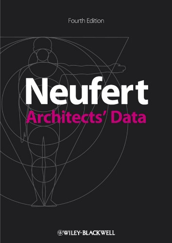 Architects' Data  4th 2012 edition cover
