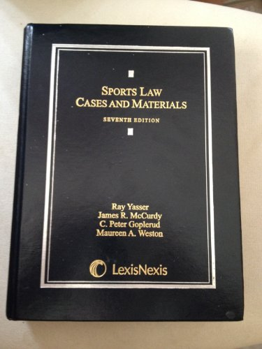 Sports Law  N/A edition cover