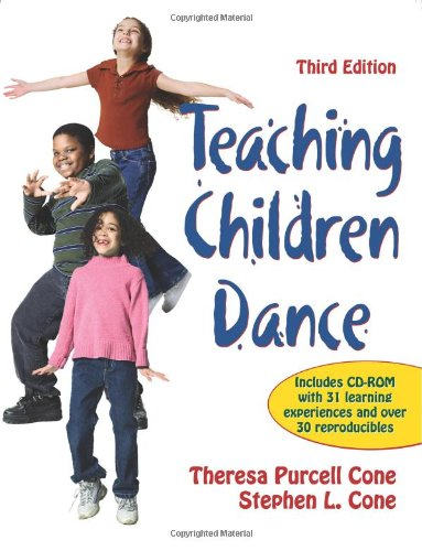 Teaching Children Dance-3rd Edition  3rd 2012 edition cover