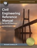 Civil Engineering Reference Manual for the PE Exam  14th 2014 9781591264538 Front Cover