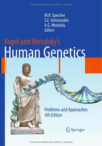 Vogel and Motulsky's Human Genetics Problems and Approaches 4th 2010 edition cover
