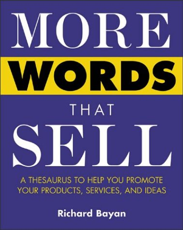 More Words That Sell   2003 9780071418539 Front Cover